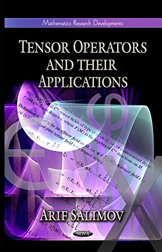 9781622570218: Tensor Operators and Their Applications (Mathematics Research Developments)