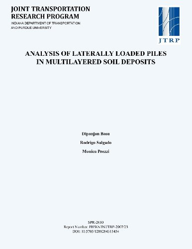 9781622601264: Analysis of Laterally Loaded Piles in Multilayered Soil Deposits