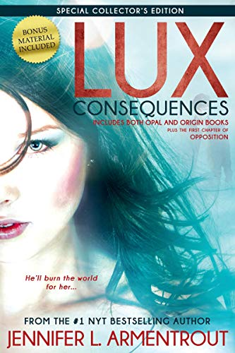 9781622664498: Lux: Consequences (Opal & Origin) (A Lux Novel)