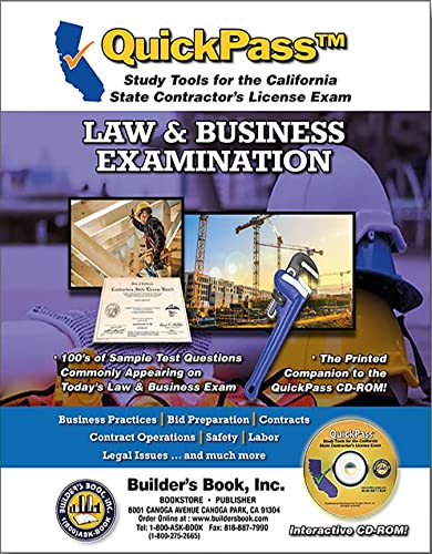 9781622700011: QuickPass Study Tools for the Law & Business Examination - CD-ROM
