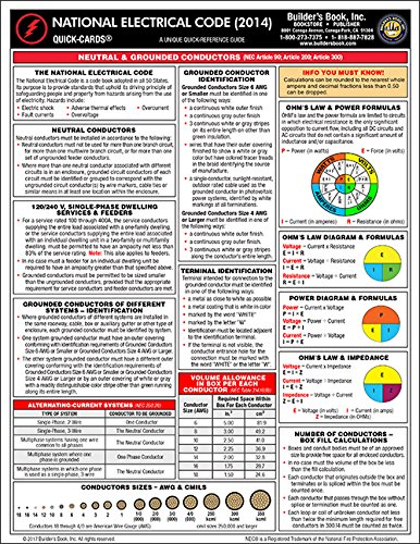 9781622700936: 2014 National Electrical Code Quick-Card