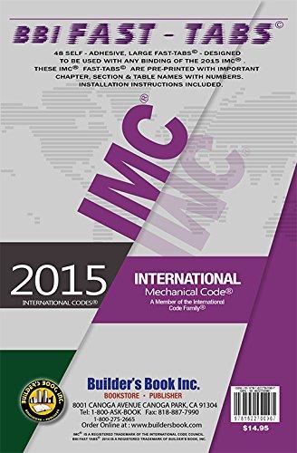 9781622700967: 2015 International Mechanical Code Fast-Tabs
