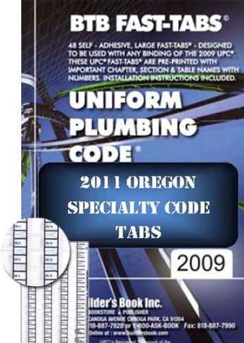 Uniform Plumbing Code BTB Fast Tabs: Builder's Book