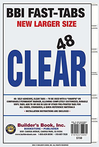 9781622709687: ALL CLEAR 48 Fast-Tabs- Large Format Tab Size
