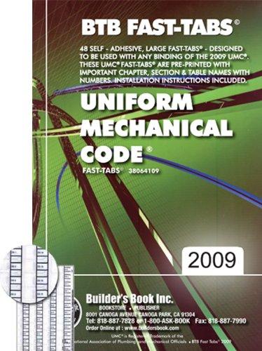 9781622709694: 2009 Uniform Mechanical Code (UMC) Fast-Tabs