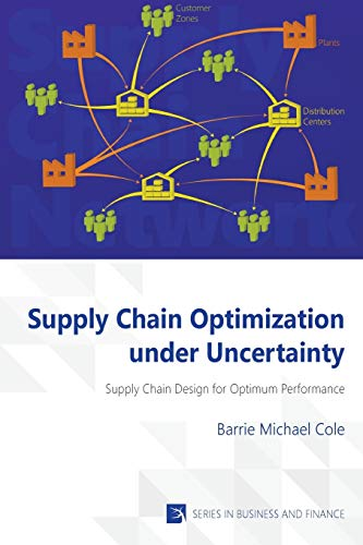 9781622730322: Supply Chain Optimization under Uncertainty (Vernon Series in Business and Finance)