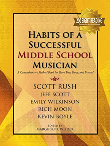 9781622771950: Habits of a Successful Middle School Musician - Conductor's Edition