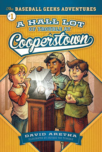 9781622851195: A Hall Lot of Trouble at Cooperstown (Baseball Geeks Adventures)