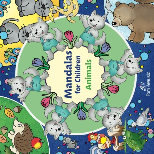 9781623211592: Animals (Mandalas for Children)