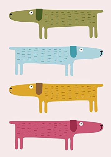 Booklets (Triple Pack) Larsen - Dogs: teNeues