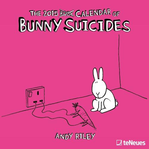 9781623251147: 2015 Bunny Suicides Wall Calendar