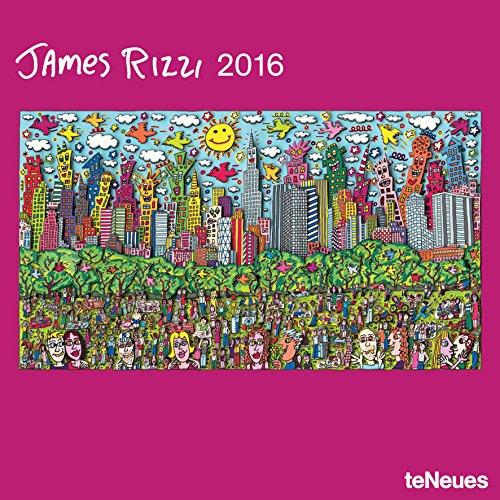 9781623255589: 2016 James Rizzi Wall Calendar