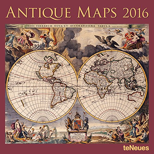 9781623255886: Antique Maps 2016 Calendar