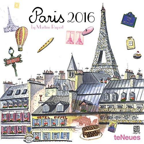 9781623255961: Paris 2016 Calendar