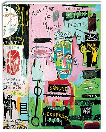 9781623256593: Jean-Michel Basquiat GreenJournals, full-color, environmentally friendly notebooks with lined pages, wrapped in a paper cover