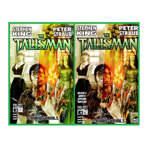 The Talisman Road of Trials Issue Zero - Color & B&W Set ( 2 Comic Issues ) (1623300215) by Stephen King; Peter Straub; Robin Furth
