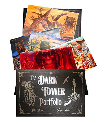 The Dark Tower Art Portfolio - Signed: Glenn Chadbourne and