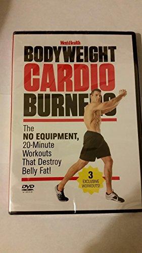 9781623364410: BODYWEIGHT Cardio Burners DVD No Equipment 20 Minute Workouts