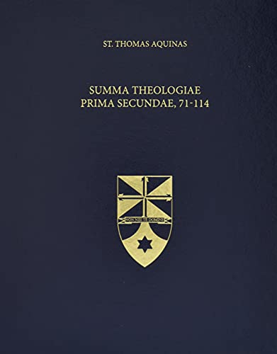 9781623400095: Summa Theologiae Prima Secundae, 71-114 (Latin-English Edition)
