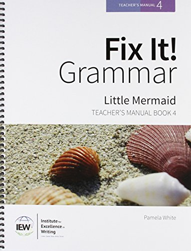 9781623411800: Fix It! Grammar: Little Mermaid [Teacher's Manual Book 4]