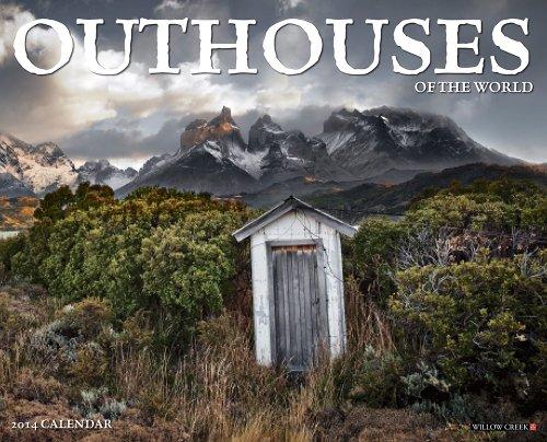 9781623430689: Outhouses 2014 Wall Calendar