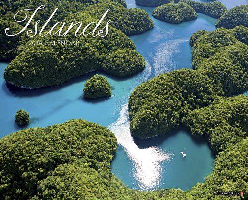 Islands 2014 Wall Calendar: Willow Creek Press