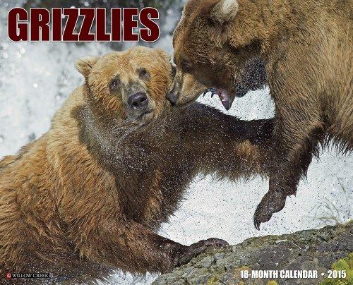 9781623432874: Grizzlies 2015 Wall Calendar