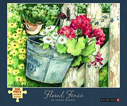 9781623435851: Floral Fence: 300-piece Puzzle