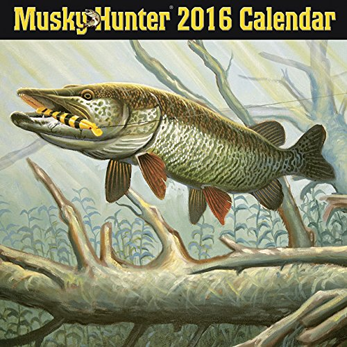 9781623437541: Musky Hunter 2016 Calendar