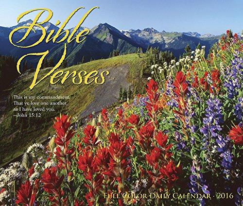9781623438609: 2016 Bible Verses Box Calendar