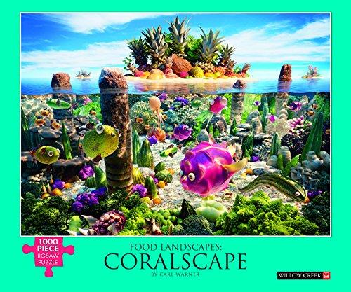 9781623439217: Food Landscape - Coralscape: 1000-piece Puzzle