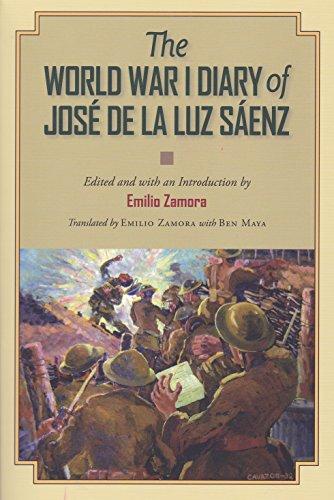 9781623491130: The World War I Diary of José de la Luz Sáenz (C. A. Brannen Series)