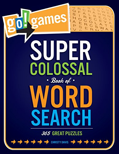 9781623540029: Go!Games Super Colossal Book of Word Search: 365 Great Puzzles