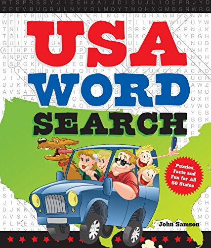 9781623540173: USA Word Search: Puzzles, Facts, and Fun for 50 States