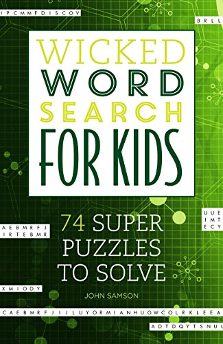 Wicked Word Search for Kids: Samson, John M.