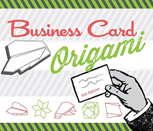 9781623540197: Business Card Origami /Anglais