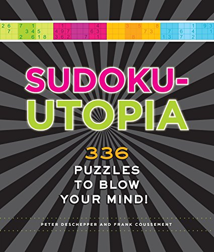 9781623540210: Sudoku-Utopia: 336 Puzzles to Blow Your Mind!