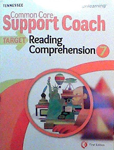 Common Core Support Coach, Target: Reading Comprehension,
