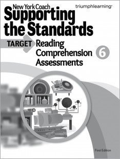 9781623625580: New York Coach: Supporting the Standards - Reading Comprehension Assessments, Grade 6 (New York Coach)