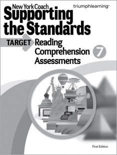 9781623625597: New York Coach: Supporting the Standards - Reading Comprehension Assessments, Grade 7 (New York Coach)