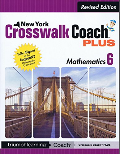 9781623626709: New York Crosswalk Coach PLUS Grade Mathematics, 6