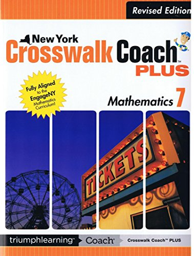 9781623626716: New York Crosswalk Coach Plus Math Grade 7 Revised Edition