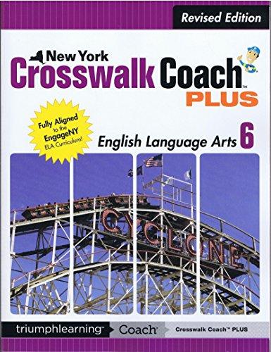 9781623626761: New York Crosswalk Coach PLUS Grade 6 ELA with Answer Key
