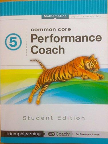 9781623628079: Common Core Performance Coach Mathematics 5th Grade