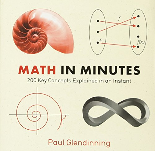 9781623650087: Math in Minutes: 200 Key Concepts Explained In An Instant (Knowledge in a Flash)