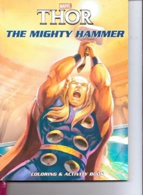 Thor Classic Coloring Activity Book ~ the Mighty Hammer
