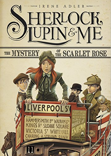 9781623702038: The Mystery of the Scarlet Rose (Sherlock, Lupin, and Me)