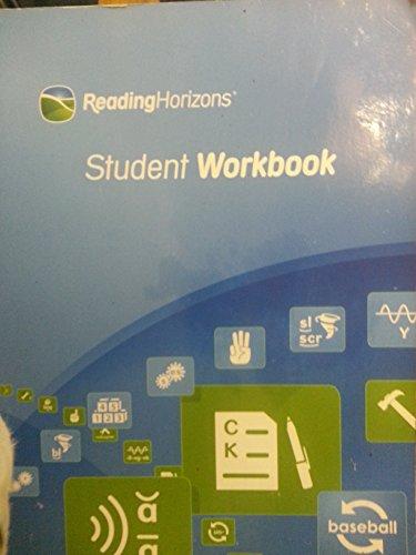 9781623820848: Reading Horizons - Student Workbook