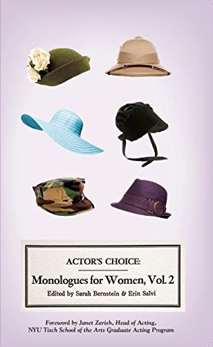 Actor's Choice: Monologues for Women, Vol. 2