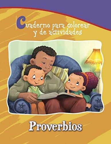 Proverbios - Cuaderno para colorear y de actividades: Sabiduría ...